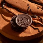 Zabajone semifreddo, Pure Origine Sao Thomè chocolate gelato, zabajone cream and cacao sponge soaked with marsala
